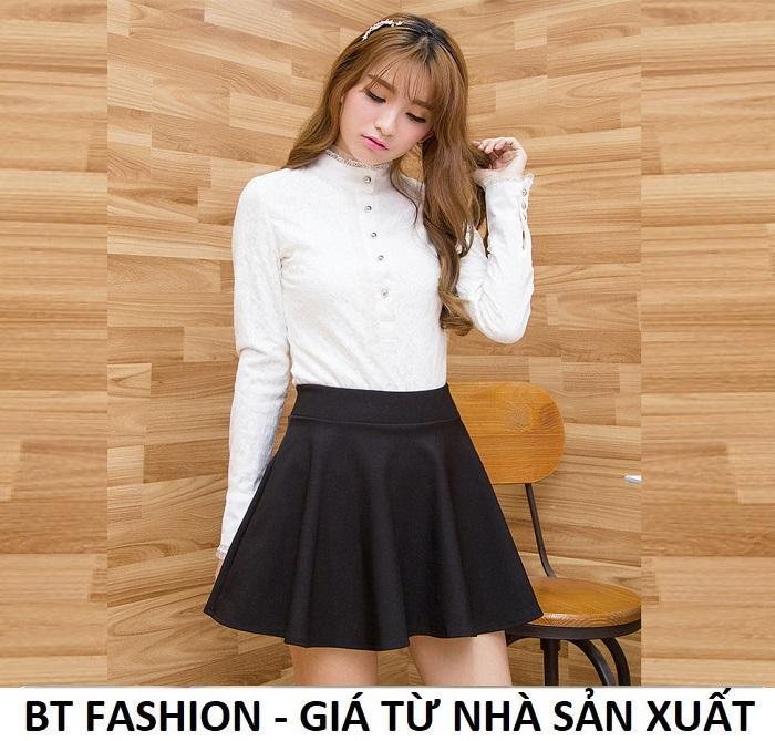 Chân Váy Xòe Ngắn Duyên Dáng Thời Trang Hàn Quốc - BT Fashion (VA01)