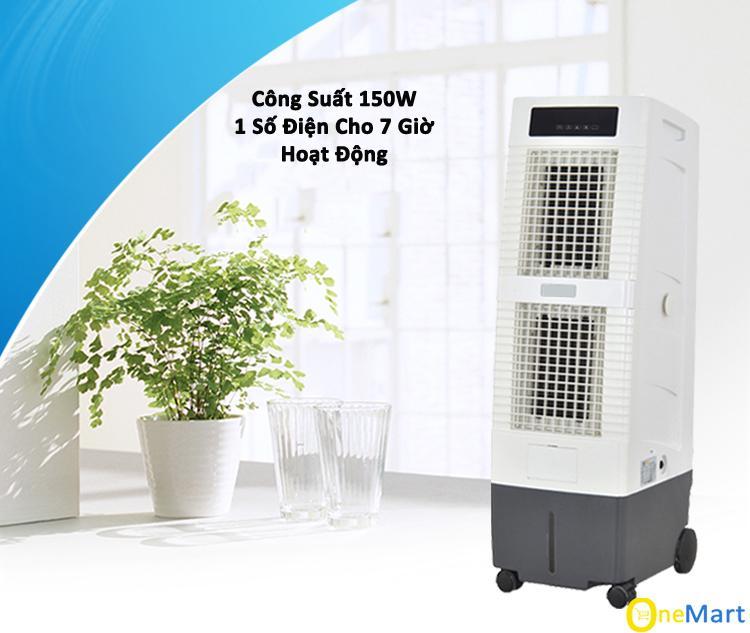 [XẢ KHO 3 NGÀY] (20-30m2) Quạt điều hòa không khí AKYO Model AK3000, Made in Thái Lan, tem cào bảo hành điện tử, Quạt điều hòa, Điều hòa không khí, Công nghệ mới Inverter, Khử ion âm, Tặng 2 cục đá khô, bảo hành 24 tháng - MQ STORE