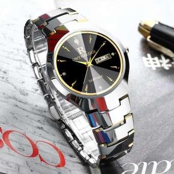 ของแท้ผู้ชายซีเมนต์คาร์ไบด์ผู้หญิงนาฬิกานาฬิกาควอตซ์กันน้ำบางเฉียบนาฬิกาหญิงนาฬิกา rhinestone นาฬิกาข้อมือสไตล์ธุรกิจนาฬิกาสตรี-