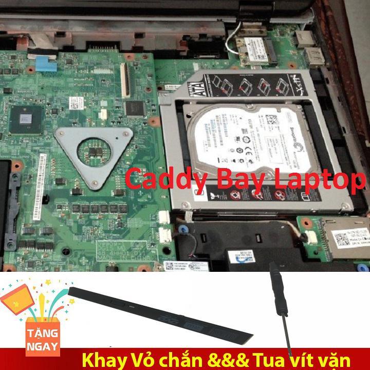 Khay Gắn Thêm Ổ Cứng Laptop HDD/SSD - Caddy Bay 9.5 (Mỏng)