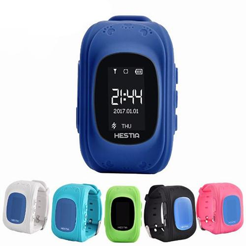 đồng hồ định vi GPS Q50 xanh than