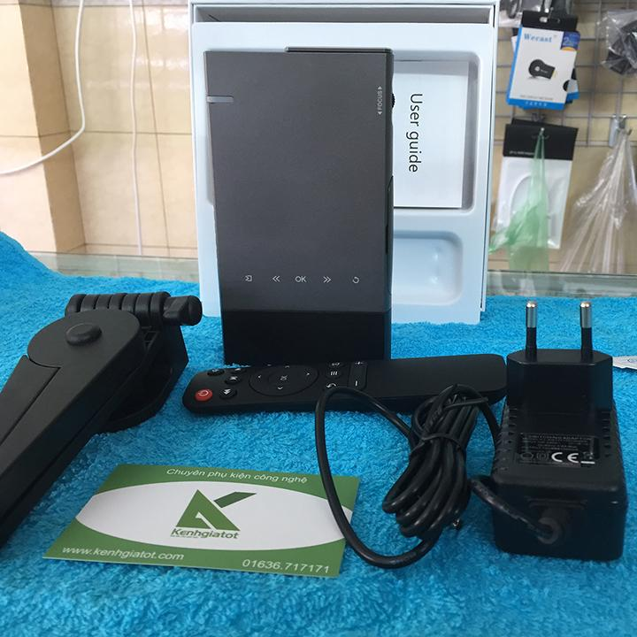 Máy chiếu DLP cầm tay mini LJD-S1 pin 5200mah thích hợp đi du lịch
