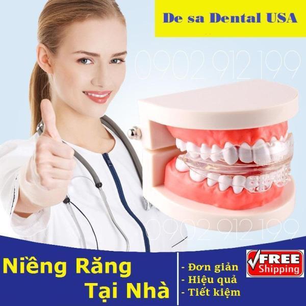 DỤNG CỤ NIỀNG RĂNG │Phương pháp niềng răng tại nhà cho răng Hô, móm và mọc lêch - Dùng để niềng răng cho cả người lớn và trẻ em từ 6t trở lên. giá rẻ