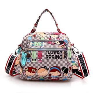 Túi đeo chéo harajuku họa tiết đặc sắc, chống thấm nước, chưa được nhiều đồ dùng thumbnail