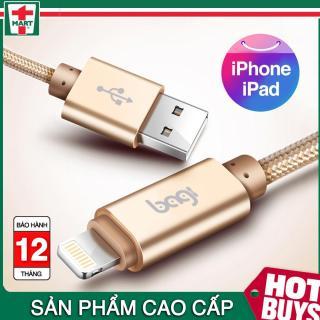 Dây sạc iPhone iPad Bagi CB-IS10 - Hàng chính hãng - iphone 5 5s 6 6s 7 7 Plus 8 8 Plus và iPhone X thumbnail