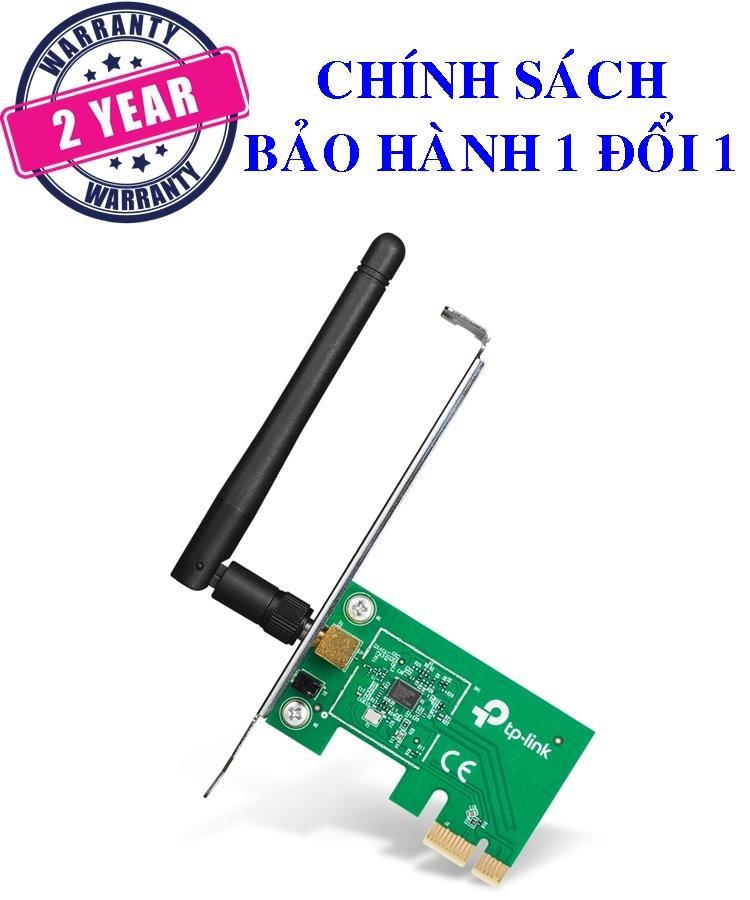 Card mạng PCI Express Wi-Fi Chuẩn N 150Mbps - TP-Link - TL-WN781ND