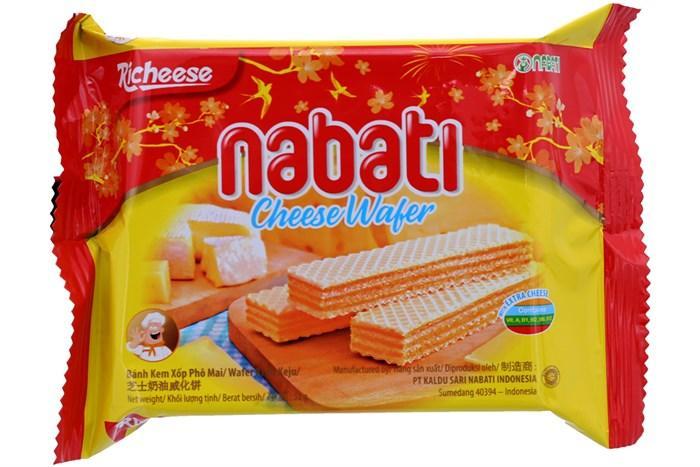 Combo 3 Gói Bánh Kem Xốp Phô Mai Nabati 58g