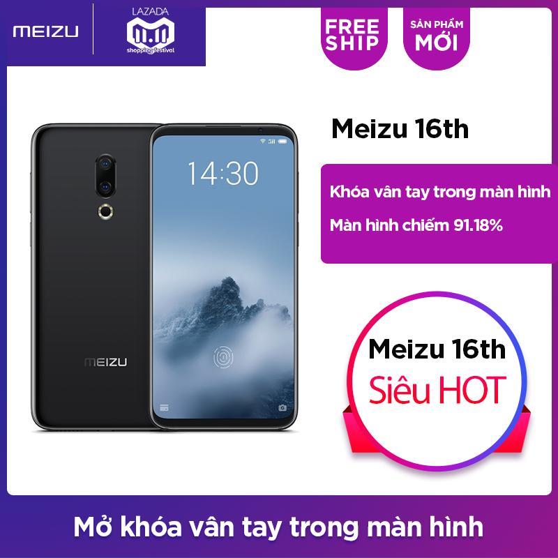 Meizu 16th Ram 8GB (Đen) - Hãng phân phối chính thức