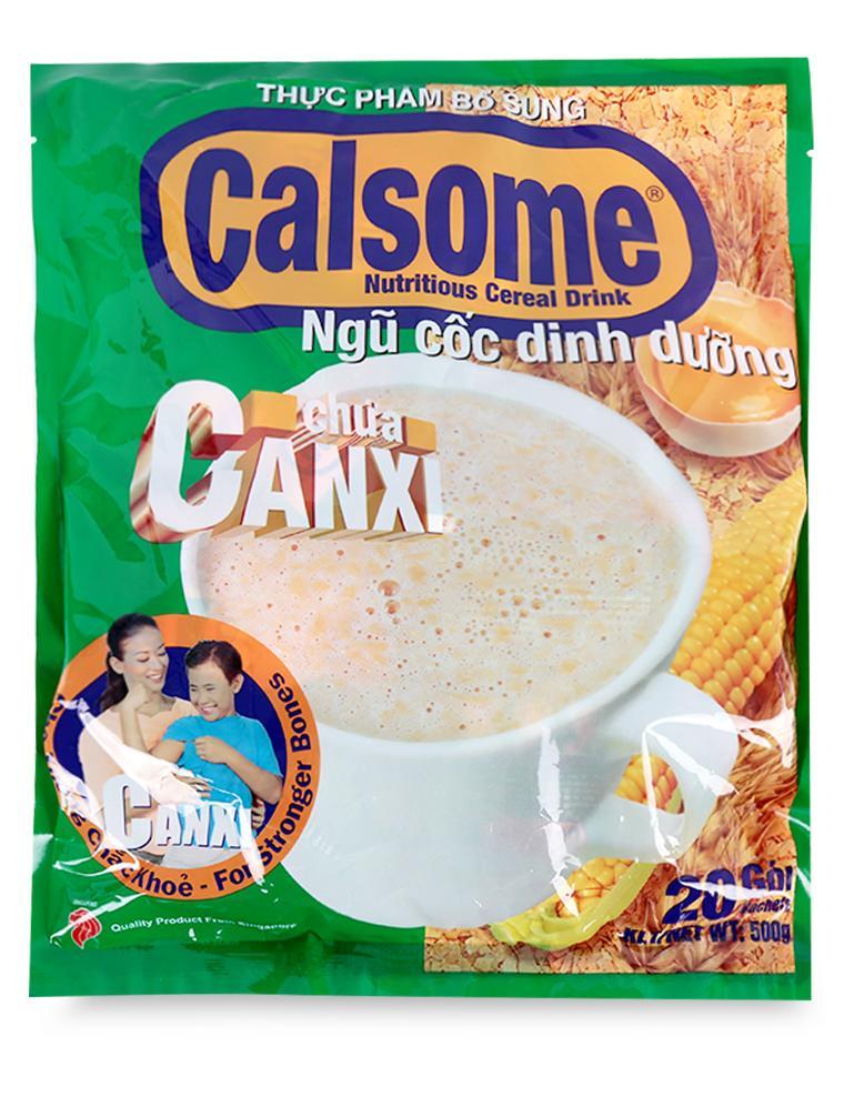 Ngũ Cốc Dinh Dưỡng Calsome Gói 500g (25GR X 20 gói)