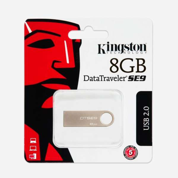 USB Kingston 2.0 DataTraveler SE9 8GB - GIÁ RẺ