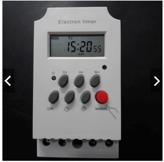 Công tắc hẹn giờ Electron Timer KG316T 17 chương trình công suất 25A