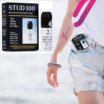 Chai Xịt Kéo Dài Quan Hệ Stud 100 Pro - Trị Xuất Tinh Sớm đến từ Anh Quốc