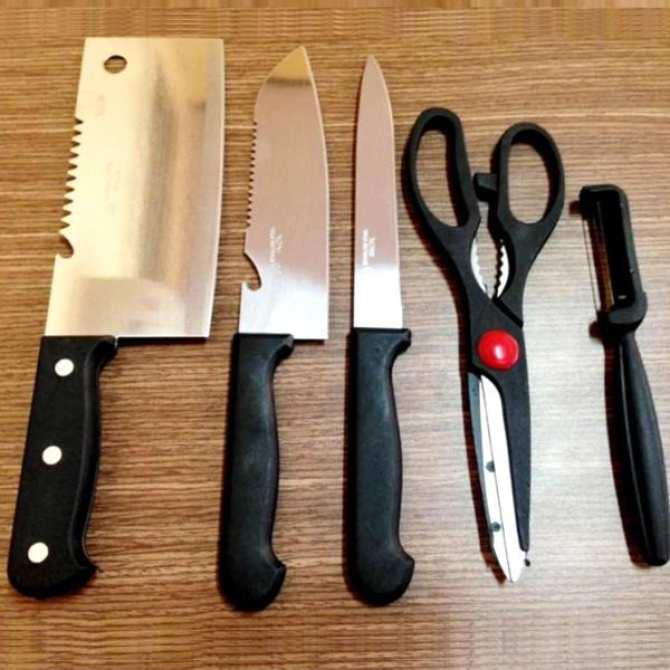 Bộ dao kéo thép không gỉ 5 món JD-BD51