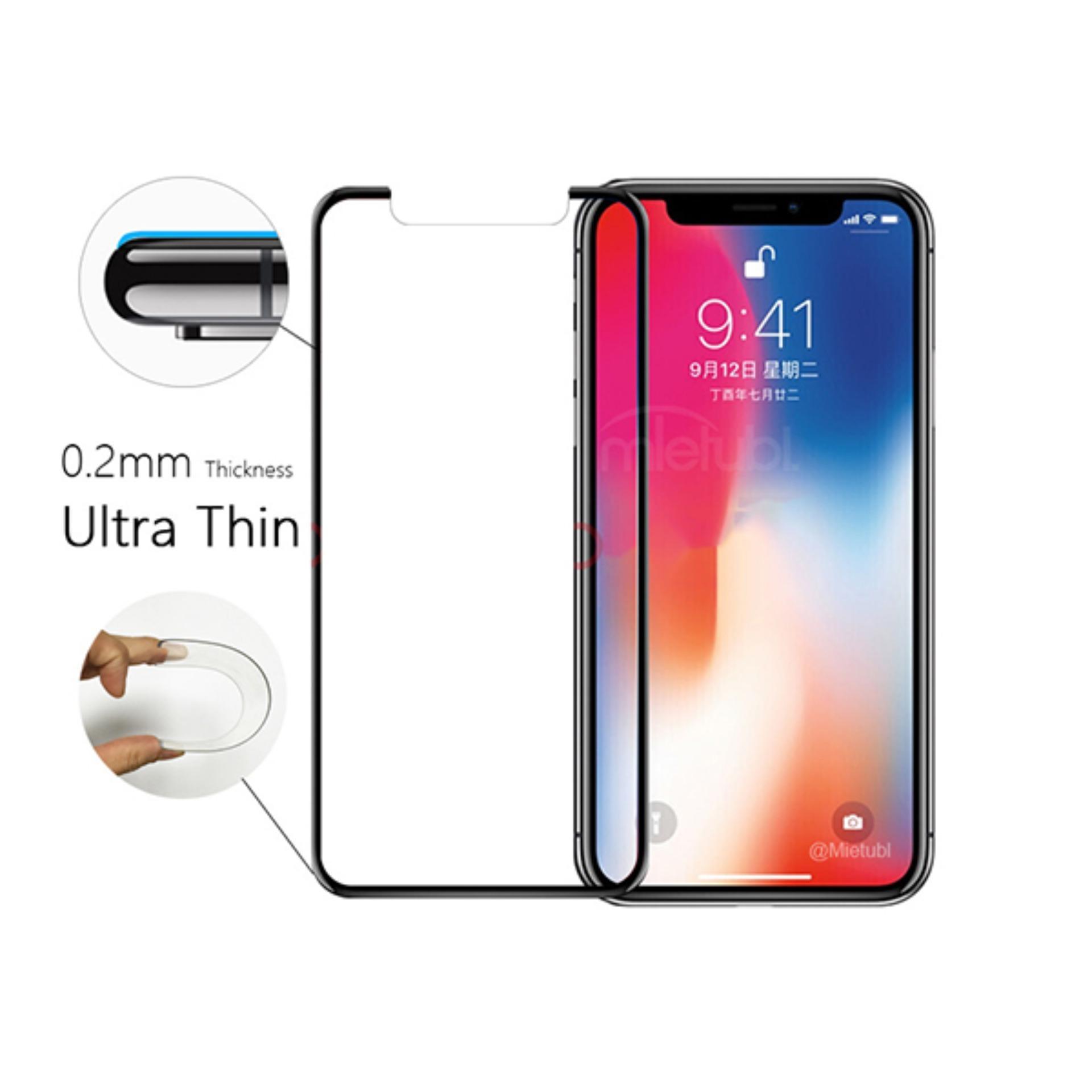 Kính cường lực Iphone X/Xr 2.5D loại tốt