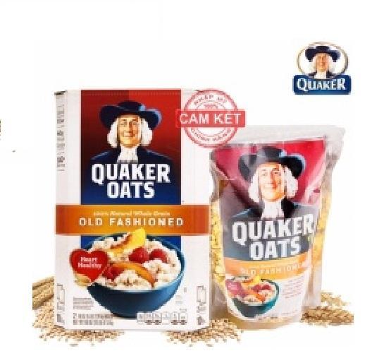 yến mạch quaker oats 500g
