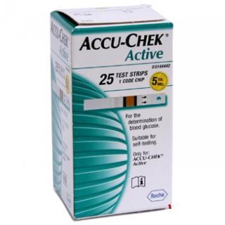 Que thử đường huyết Accu-Chek Active (25 test) thumbnail