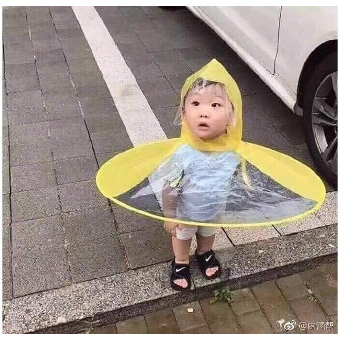 Áo mưa tròn kute