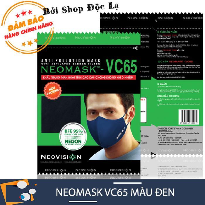 Khẩu Trang NeoMask VC65 (Màu đen)