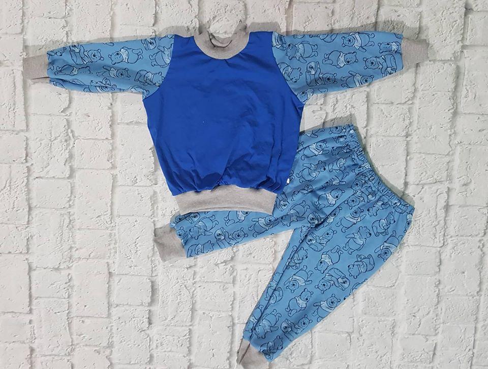 set đồ dài cho bé 10-45kg(da cá gấu xanh)