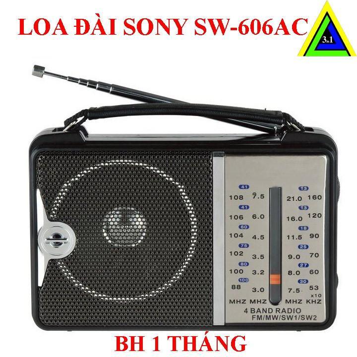 Radio Sony Sw-606AC - Đen