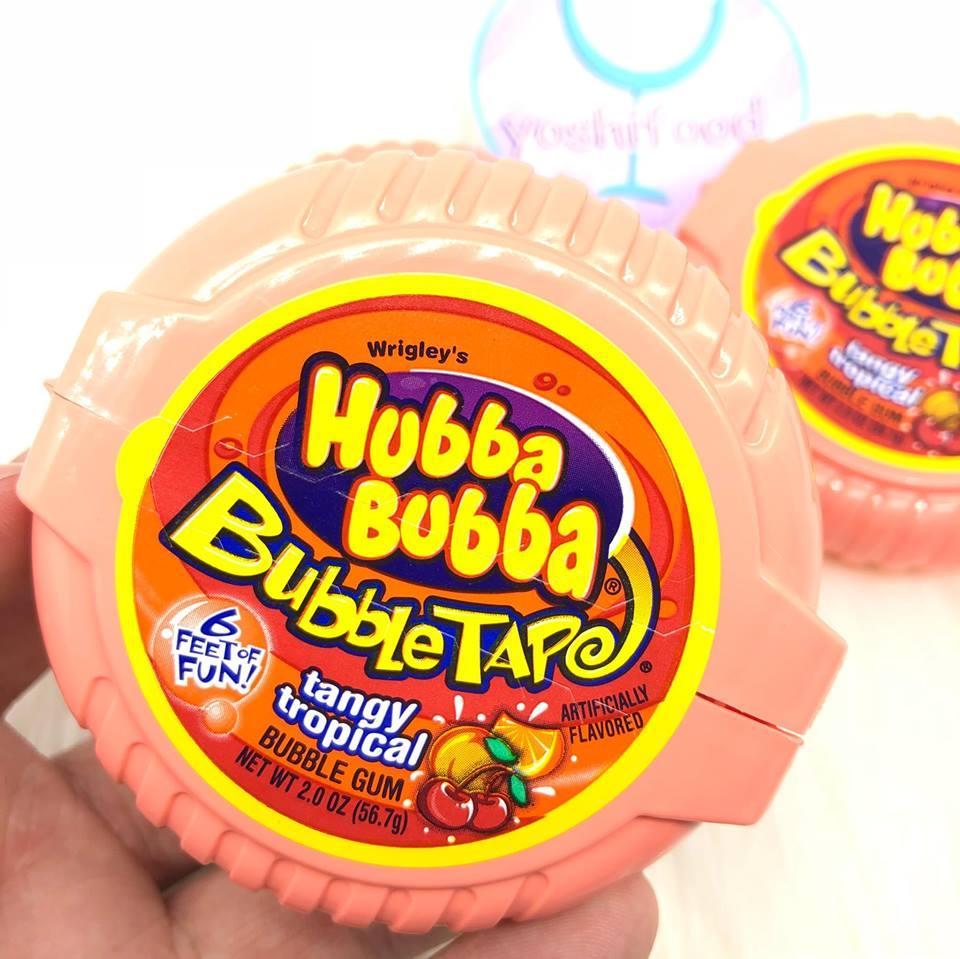 Kẹo Singum Hubba Bubba Vị Cam