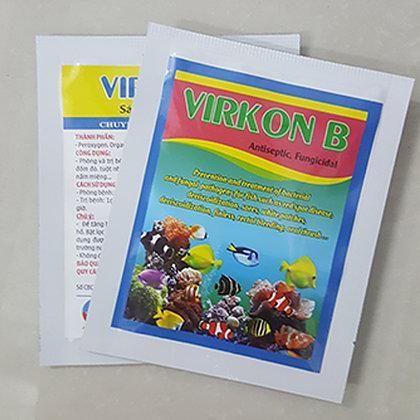 VIRKOM B: Trị nấm, diệt khuẩn dành cho Cá Cảnh Gói 10g
