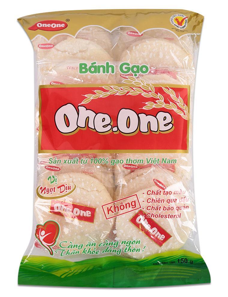Bánh Gạo Vị Ngọt One One Gói 150g