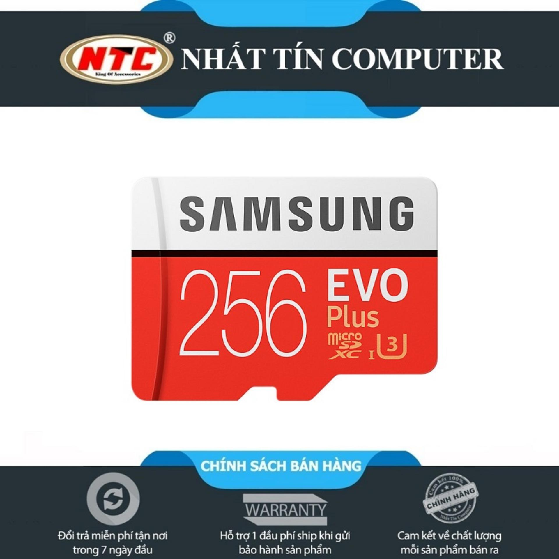 Thẻ Nhớ Microsdxc Samsung Evo Plus 256Gb 95Mb/S (Đỏ) Đang Có Ưu Đãi