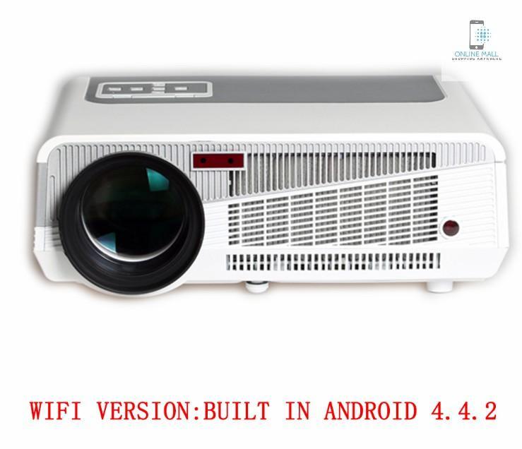 Máy chiếu chạy HĐH Android LED 86+ tích hợp WIFI - Online Mall