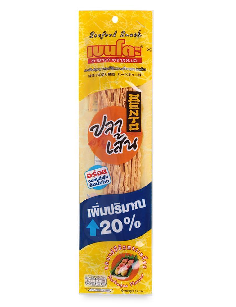 Snack Hải Sản Tẩm Gia Vị Barbeque Bento Gói 15G