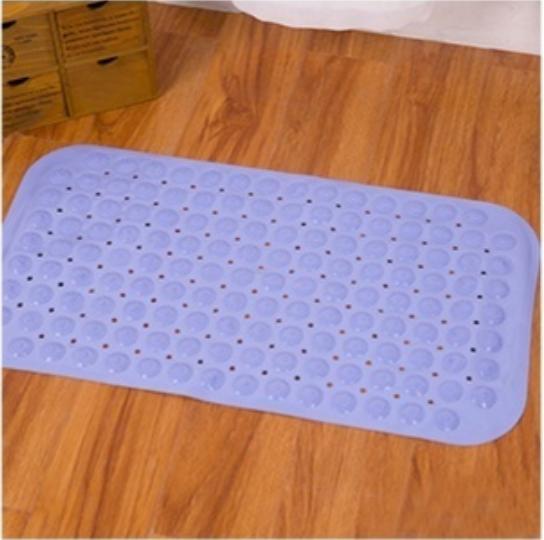 Thảm nhựa chống trơn trượt có hút chân không 70x38cm (giao màu ngẫu nhiên)