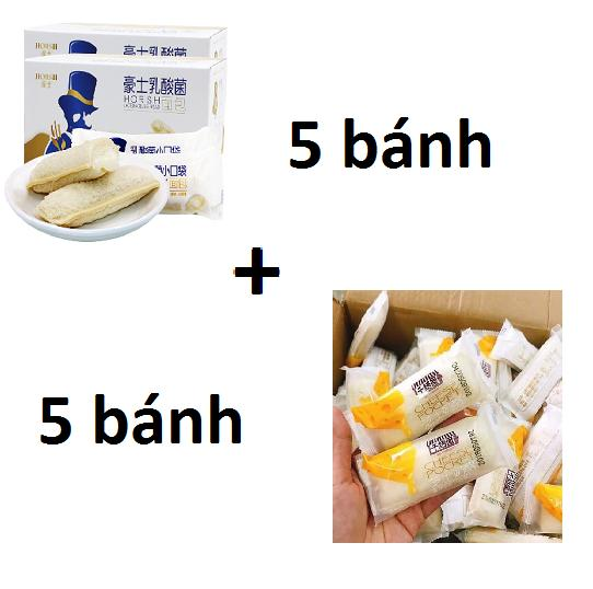 [Sài Gòn - HCM] Combo 5 bánh sữa chua Horsh + 5 bánh sữa chua phô mai Cheese Pocket