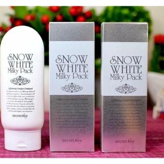 [Lấy mã giảm thêm 30%] Kem Tắm Trắng Secret Key Snow White Milky Pack thumbnail