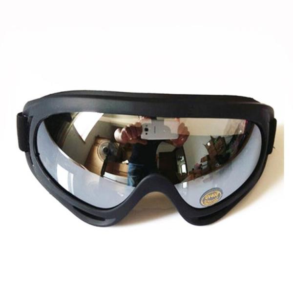 Giá bán Mắt kính đi phượt chống bụi, chống tia UV ( tráng bạc trong )