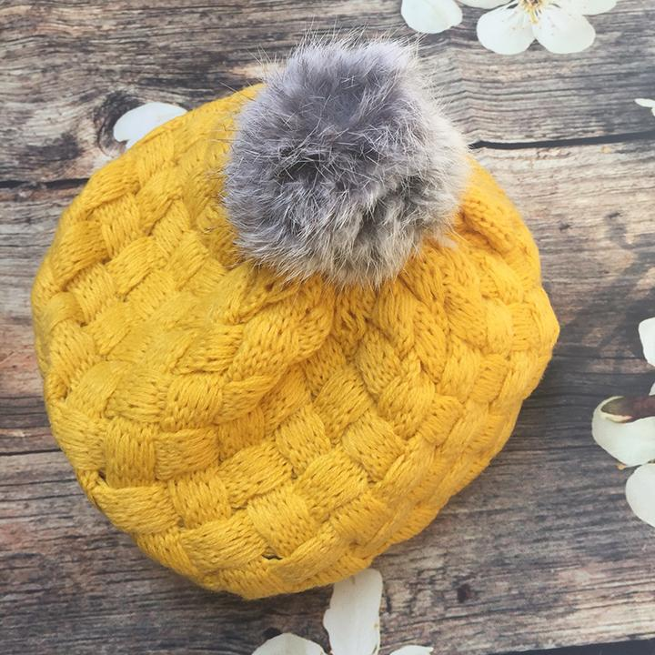 Mũ len cho bé, mũ nồi xinh xắn cho các bé gái