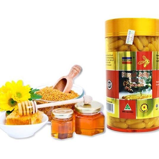 Sữa Ong Chúa Úc Royal Jelly Costar 365 Viên 1610Mg
