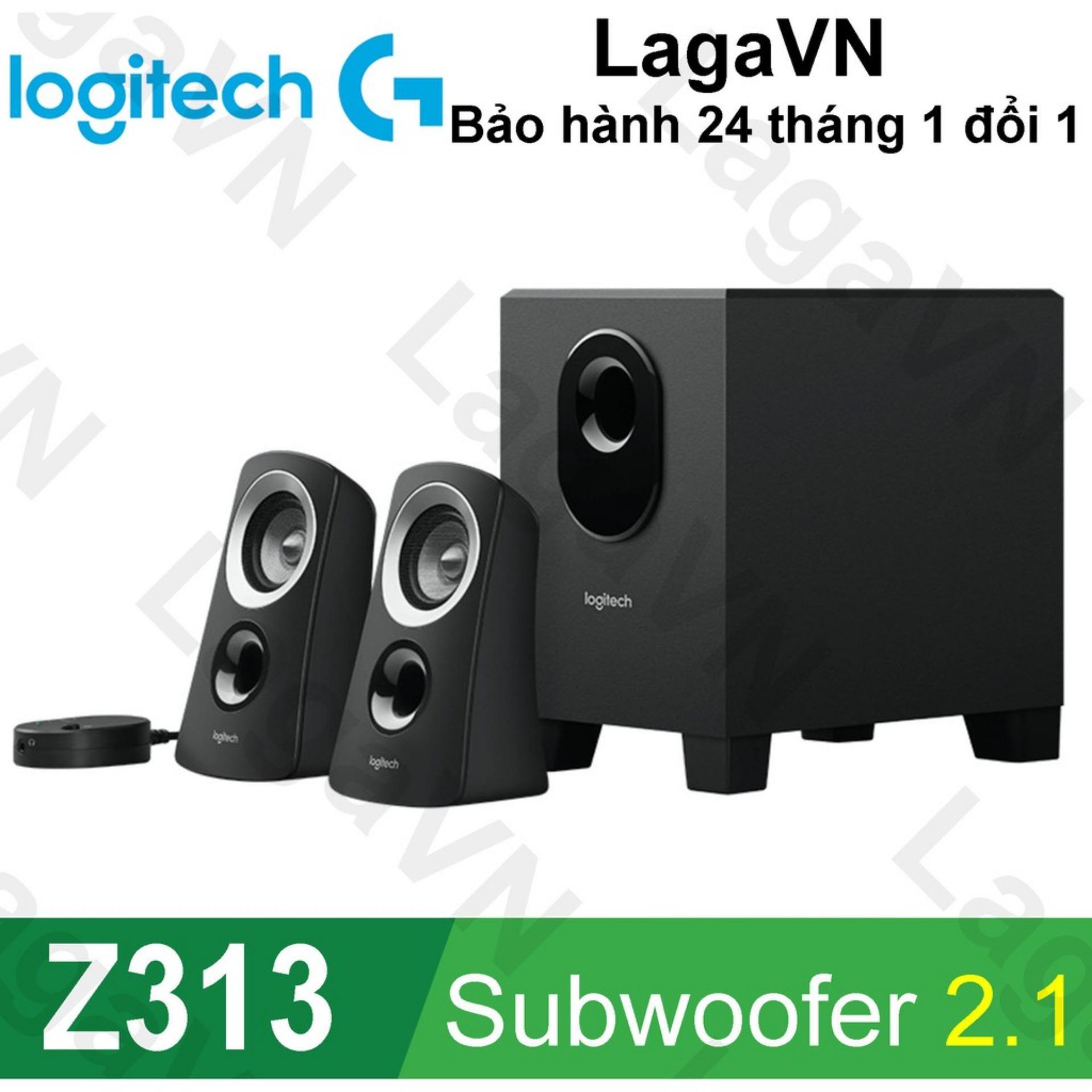 Loa vi tính Logitech Z313 Subwoofer 2.1 Speakers - Hãng phân phối chính thức