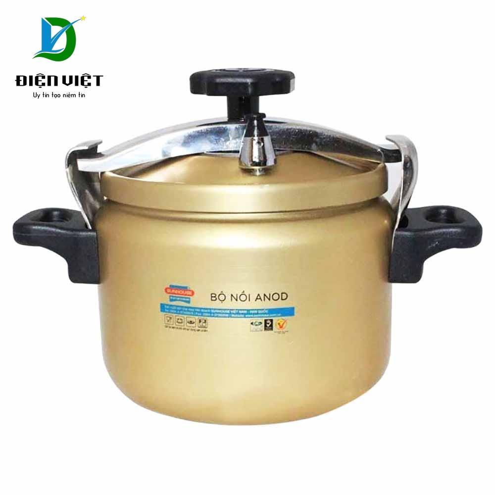 Nồi áp suất Anod Sunhouse SHA8604 6L (Vàng) - Điện Việt
