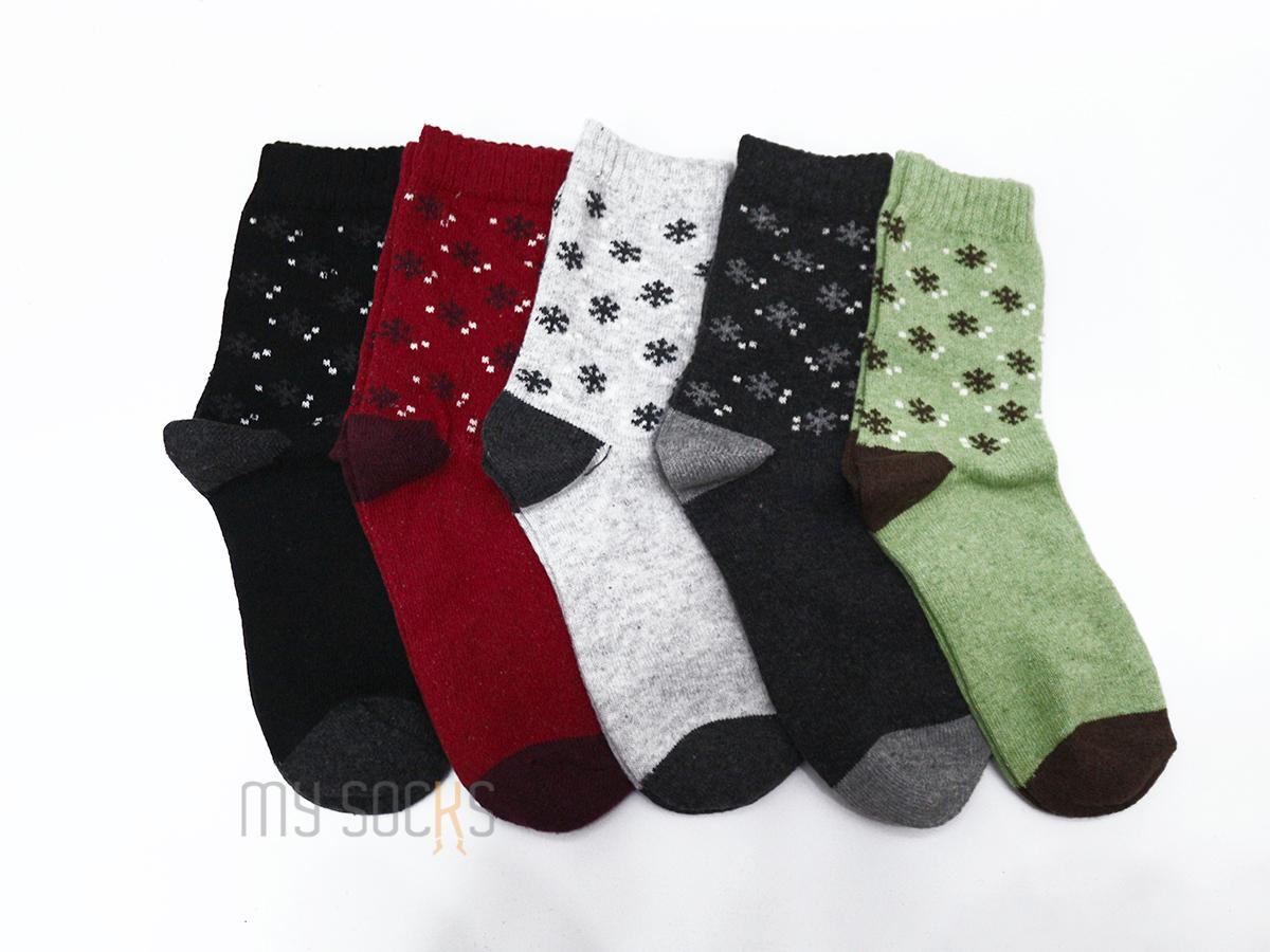 Phụ kiện giày vớ nữ len cao cổ (5 đôi) Vớ Store - A288