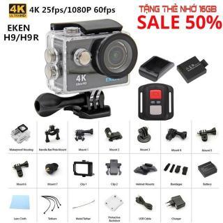 Camera Hành Trình Chính Hãng Eken H9R 4K Ultra HD Wifi Siêu Nét, Camera Hành Trình Đi Phượt Chất Lượng Cao - Bảo Hành 1 Năm Đổi Mới thumbnail