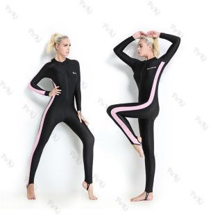 Quần áo lặn biển chống nắng 1mm NỮ - PINK, cản tia UV, hàng thể thao chuyên dụng cao cấp - POKI thumbnail