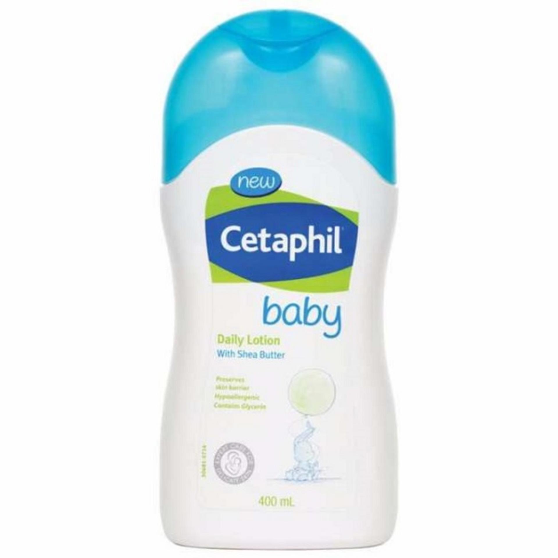 Sữa dưỡng ẩm toàn thân - Baby Daily Lotion 400ml - Cetaphil