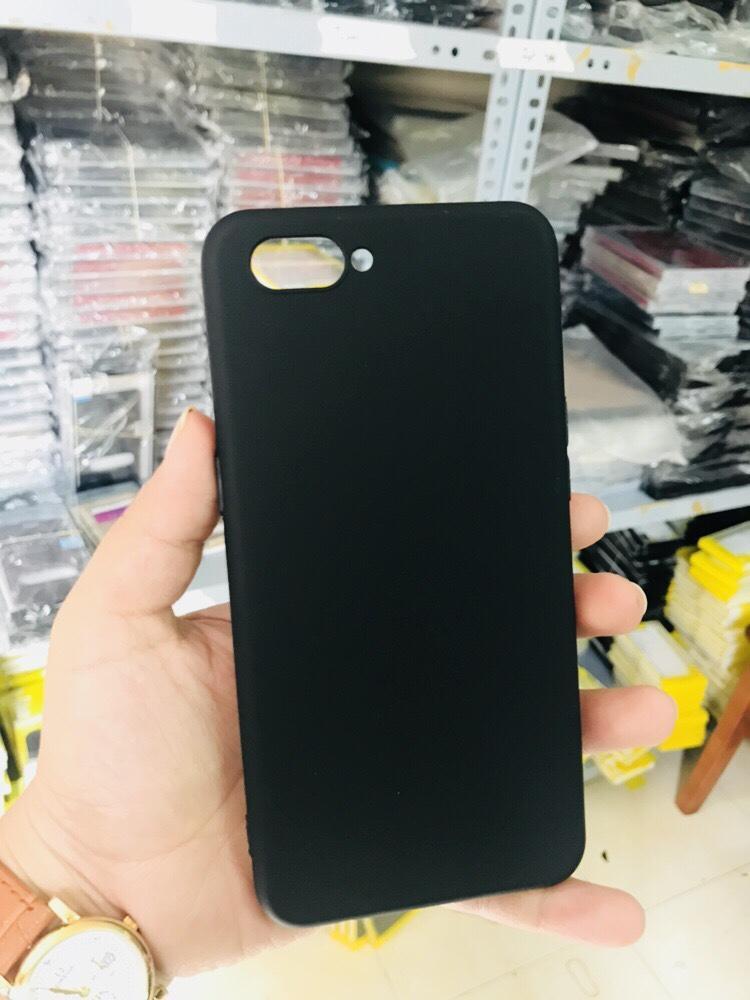Ốp dẻo đen silicon cao cấp cho Oppo A3S