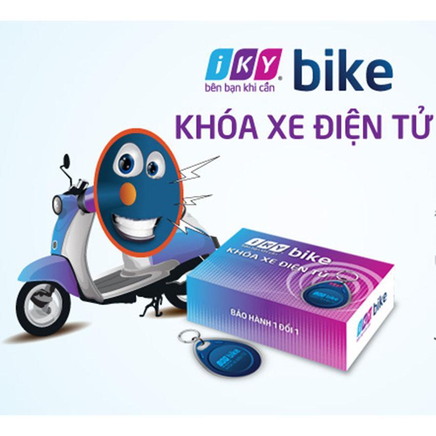 Khóa chống trộm xe máy bằng thẻ từ Iky Bike