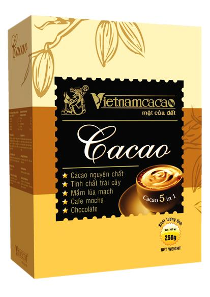 Bột cacao 5 in 1 - Vinacacao 250g