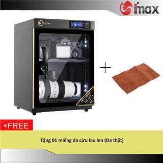 Tủ chống ẩm Nikatei NC-30S GOLD (30 lít) + Da cừu lau len ( Da thật) thumbnail