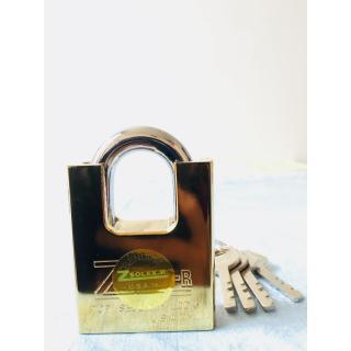 Ổ KHOÁ CHỐNG CẮT SIZE ĐẠI 60F - ổ khóa chống trộm sử dụng dễ dàng, không cần dùng lực, chỉ cần vài thao tác xoáy nhẹ là bạn đã khóa xong. thumbnail