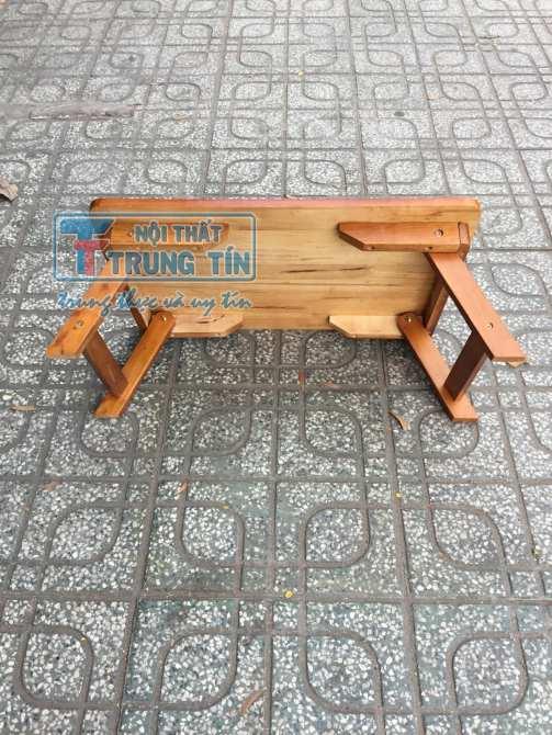 Hình ảnh bàn xếp gỗ 40*60*25 cm màu vàng