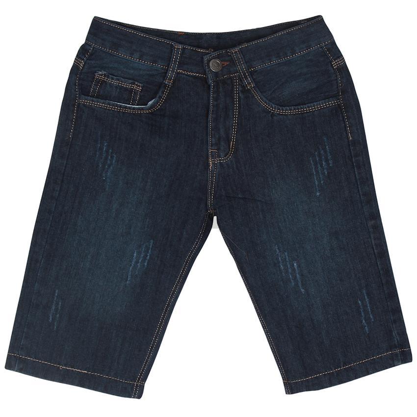 Quần Shorts Jeans Xước Nhẹ Nam Thời Trang Nam Phong MEN SHORTS 034