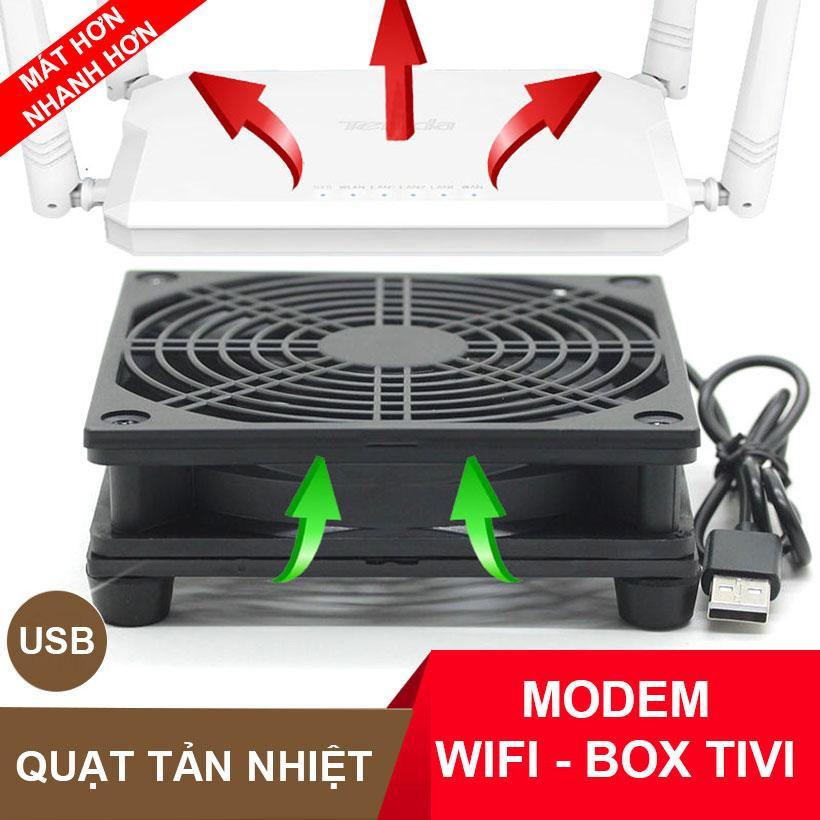Quạt tản nhiệt modem router wifi box tv USB 5V 2000 đơn